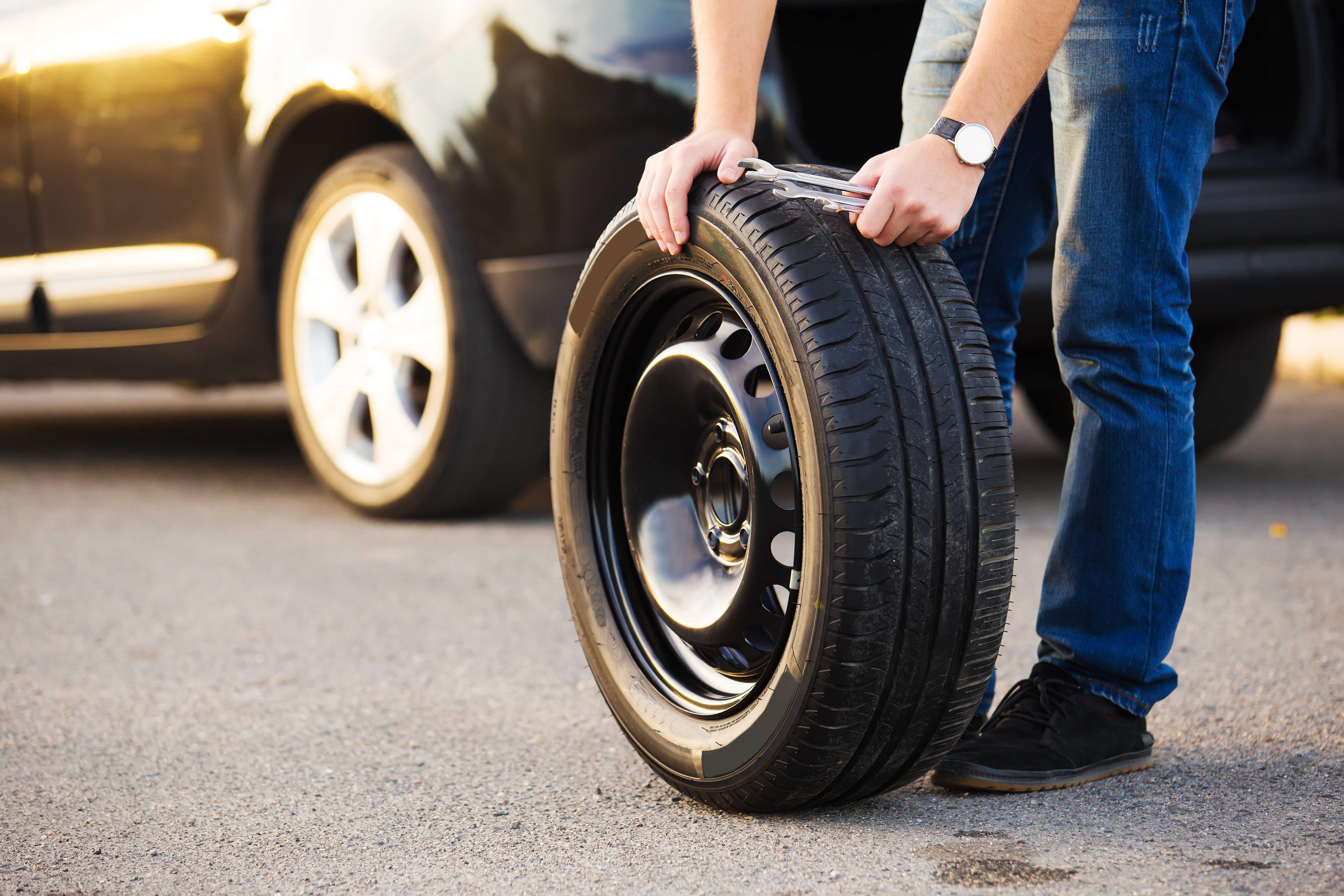 Správné skladování pneu