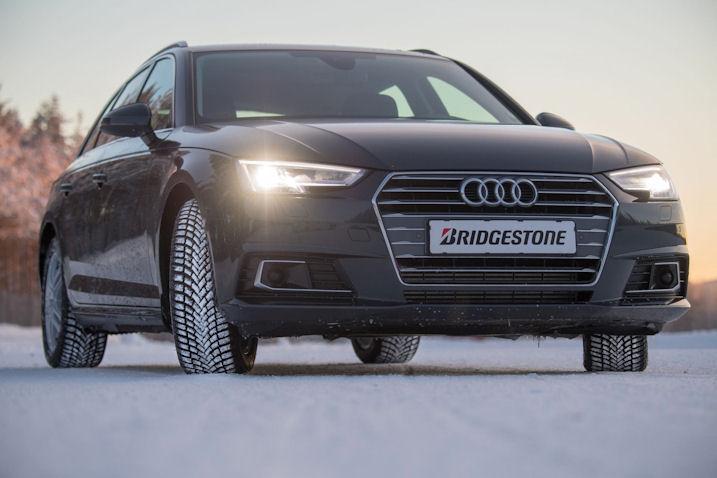 Pneumatiky Bridgestone na Audi