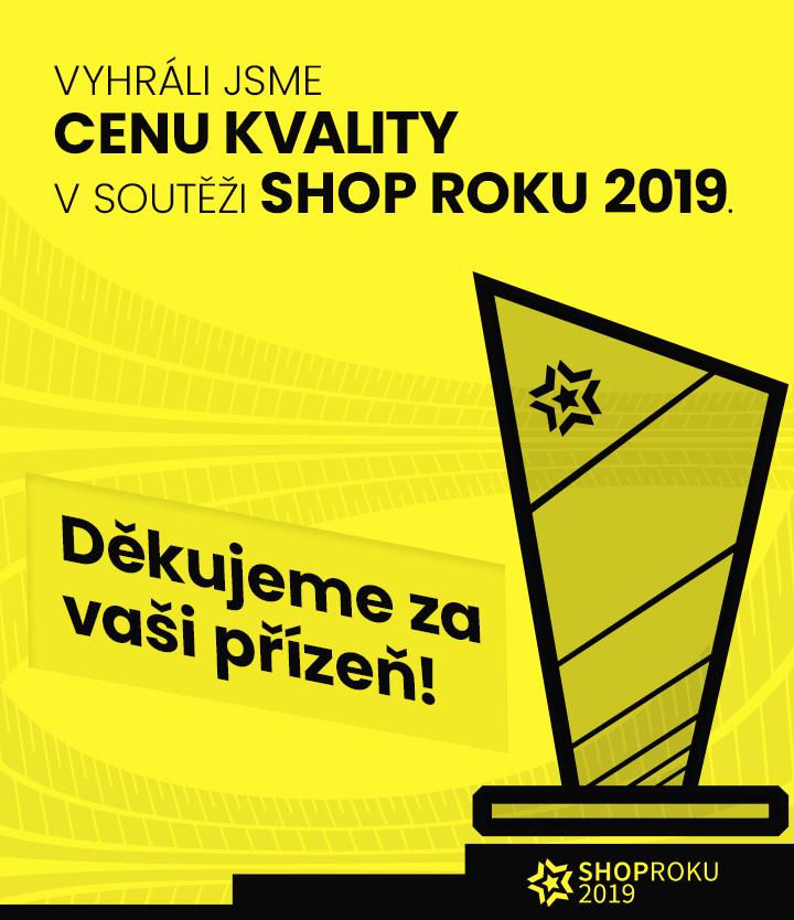 Shop Roku Pneumatiky.cz získaly cenu kvality