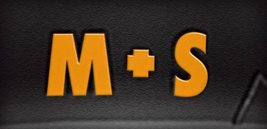Symbol značení zimních pneu M+S