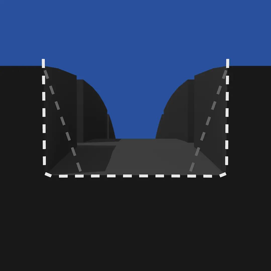 Optimalizované drážky ve tvaru písmene U