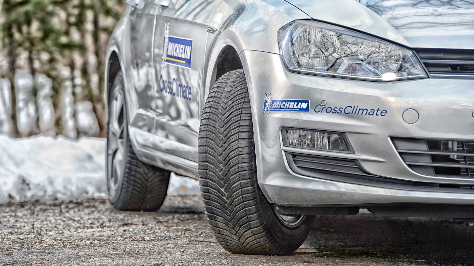 Michelin CrossClimate+ v zimě