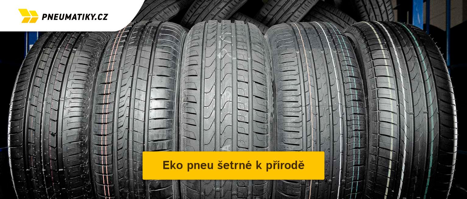 Eko pneu šetrné k přírodě