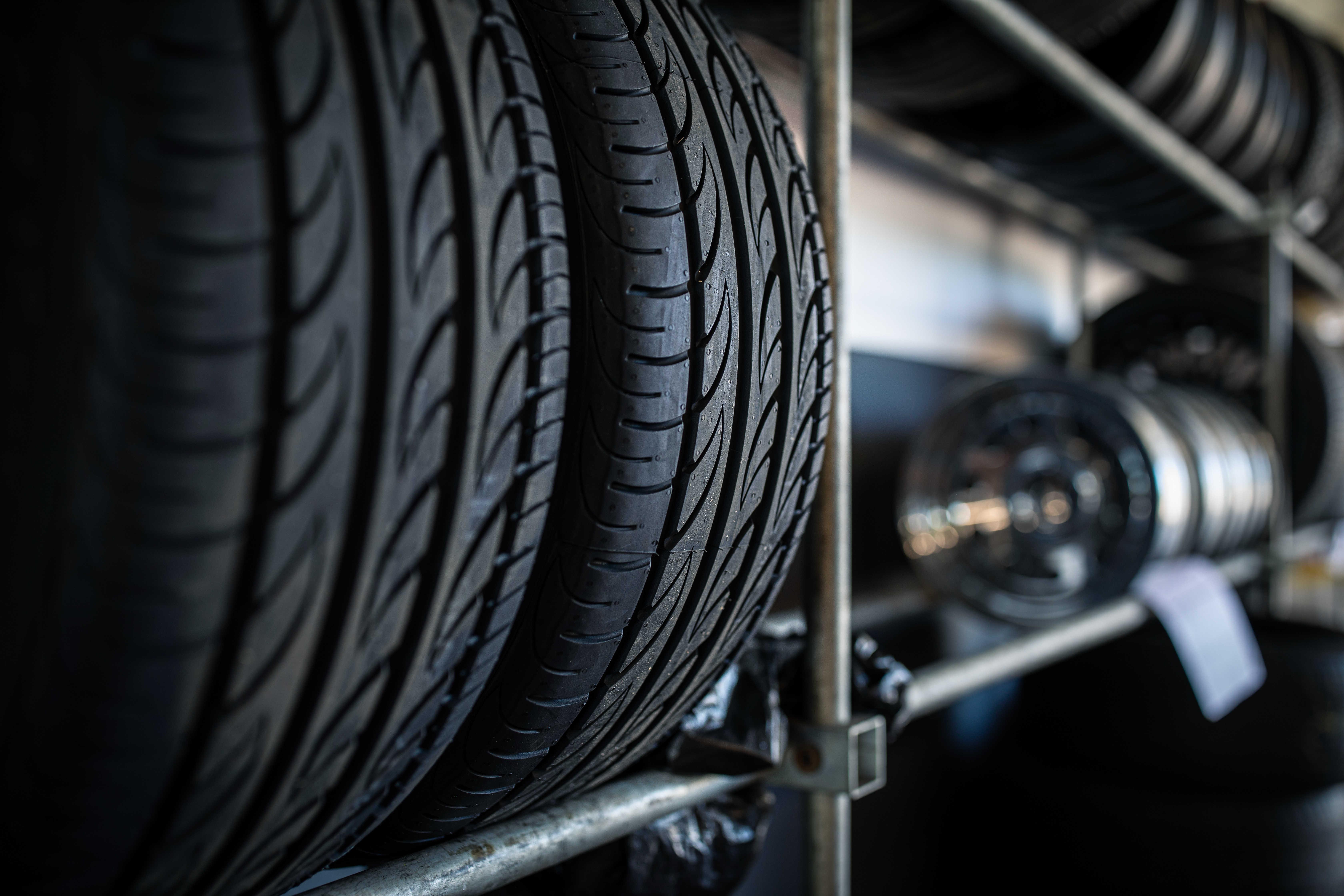 Správně skladované pneumatiky