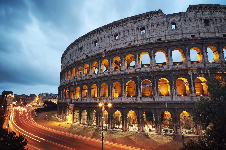 povinná výbava v Římě