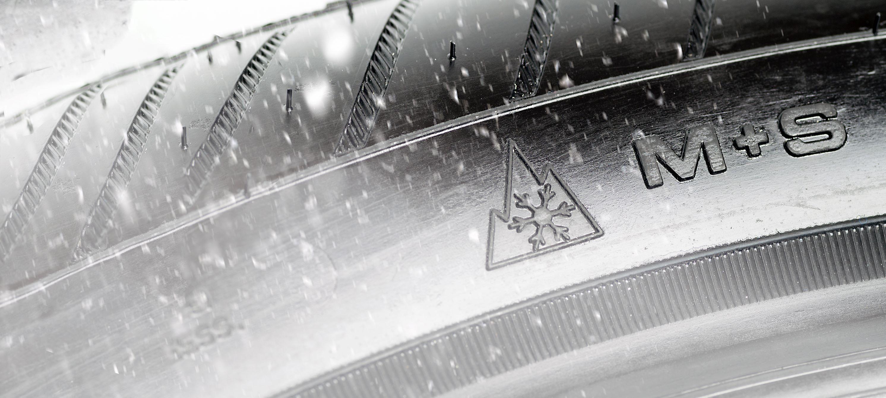 Značení zimních pneu M+S a 3PMSF