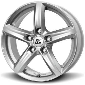Brock RC24 (KS) Alu kolo 6,5x16 5x114,3 ET48.5 CB67.1 | stříbrný lak