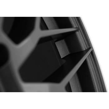 AEZ Crest dark Alu kolo 7,5x17 5x108 ET48 CB70.1 | leštěný okraj ráfku / černý metalický lak - 5