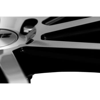 AEZ Straight Alu kolo 9x20 5x120 ET35 CB74.1 | leštěná čelní plocha / černý lak - 5