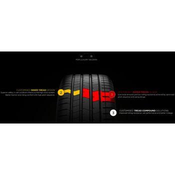 Pirelli P ZERO lx. 245/45 R18 100 W zesílená letní - 4