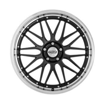 Dotz Revvo dark Alu kolo 8x18 5x112 ET35 CB70.1 | leštěný límec / metalický šedý lak - 5