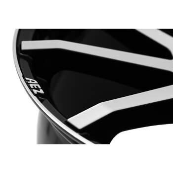 AEZ Straight Alu kolo 7,5x17 5x108 ET48 CB70.1   leštěná čelní plocha / černý lak - 3