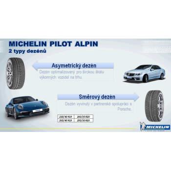 Michelin PILOT ALPIN PA4 265/35 R18 97 V zesílená fr, greenx zimní - 6