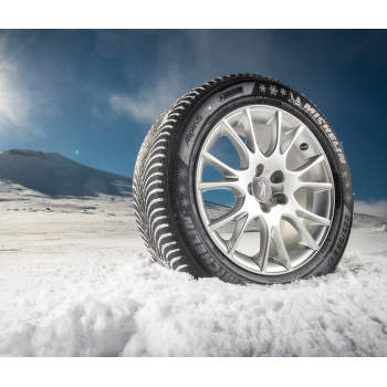 Michelin ALPIN 5 225/60 R16 102 H zesílená zimní - 6