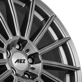 AEZ Steam graphite Alu kolo 7,5x17 5x108 ET48 CB70.1 | grafitový lak - 2