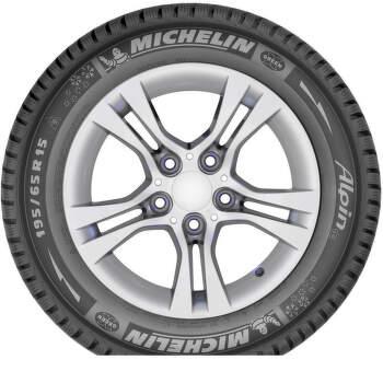 Michelin ALPIN A4 175/65 R14 82 T greenx zimní - 6