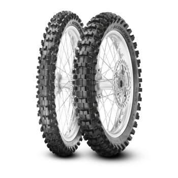 Pirelli Scorpion MX32 90/100 -14 49 M TL mid soft , zadní terénní - 2