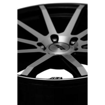 AEZ Straight Alu kolo 9x20 5x120 ET35 CB74.1 | leštěná čelní plocha / černý lak - 8
