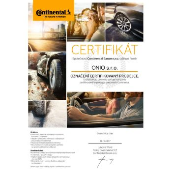 Continental PremiumContact 5 SUV 235/65 R17 104 V letní - 3