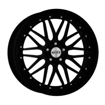 Dotz Revvo black edt. Alu kolo 8,5x19 5x120 ET33 CB72.6 | matně černý lak