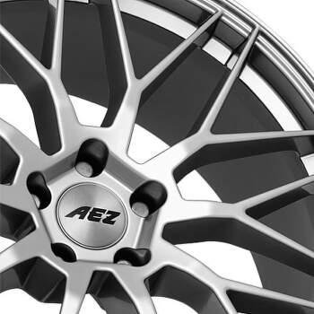 AEZ Crest Alu kolo 7,5x17 5x108 ET48 CB70.1 | titanový lesk - 3