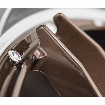 Dotz Revvo Alu kolo 7,5x17 5x108 ET48 CB70.1 | leštěný límec / bronzový lak - 5