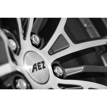 AEZ Kaiman dark Alu kolo 8x18 5x112 ET30 CB66.6 | leštěná čelní plocha / metalický šedý lak - 3