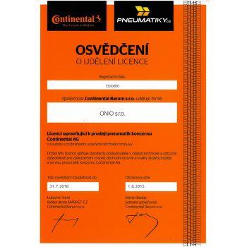 Continental SportContact 5 205/40 R17 84 V zesílená fr letní - 3