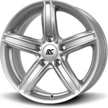 Brock RC21ECE (KS) Alu kolo 7,5x17 5x120 ET34 CB72.6 | stříbrný lak
