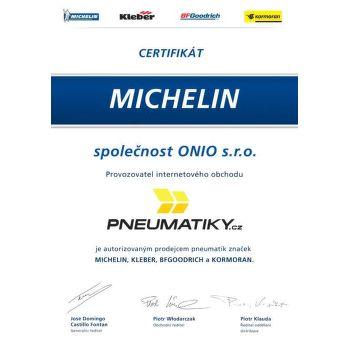 Michelin CITY PRO 90/90 -14 52 P zesílená TT rf, přední/zadní skútr - 2
