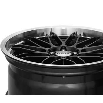 Dotz Revvo dark Alu kolo 7,5x17 5x108 ET48 CB70.1 | leštěný límec / metalický šedý lak - 2
