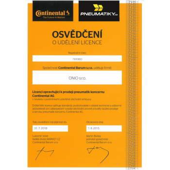 Continental SportContact 2 215/40 ZR16 86 W zesílená fr letní - 3