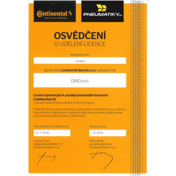 Continental SportContact 2 225/40 ZR18 88 Y fr letní - 3