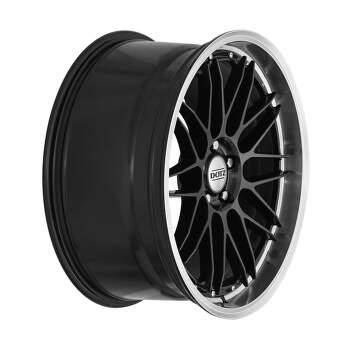 Dotz Revvo dark Alu kolo 7,5x17 5x108 ET48 CB70.1 | leštěný límec / metalický šedý lak - 3