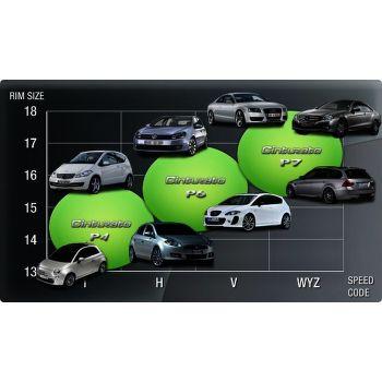 Pirelli P7 Cinturato 225/50 R17 98 Y zesílená Audi fr letní - 2