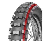 100/90 -19 57 M TT červená, zadní terénní