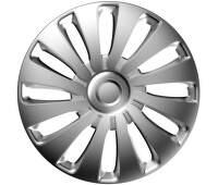 Poklice stříbrná - sada 4 ks