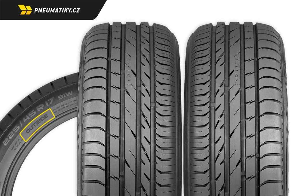 Asymetrické pneumatiky – jak nasadit na auto