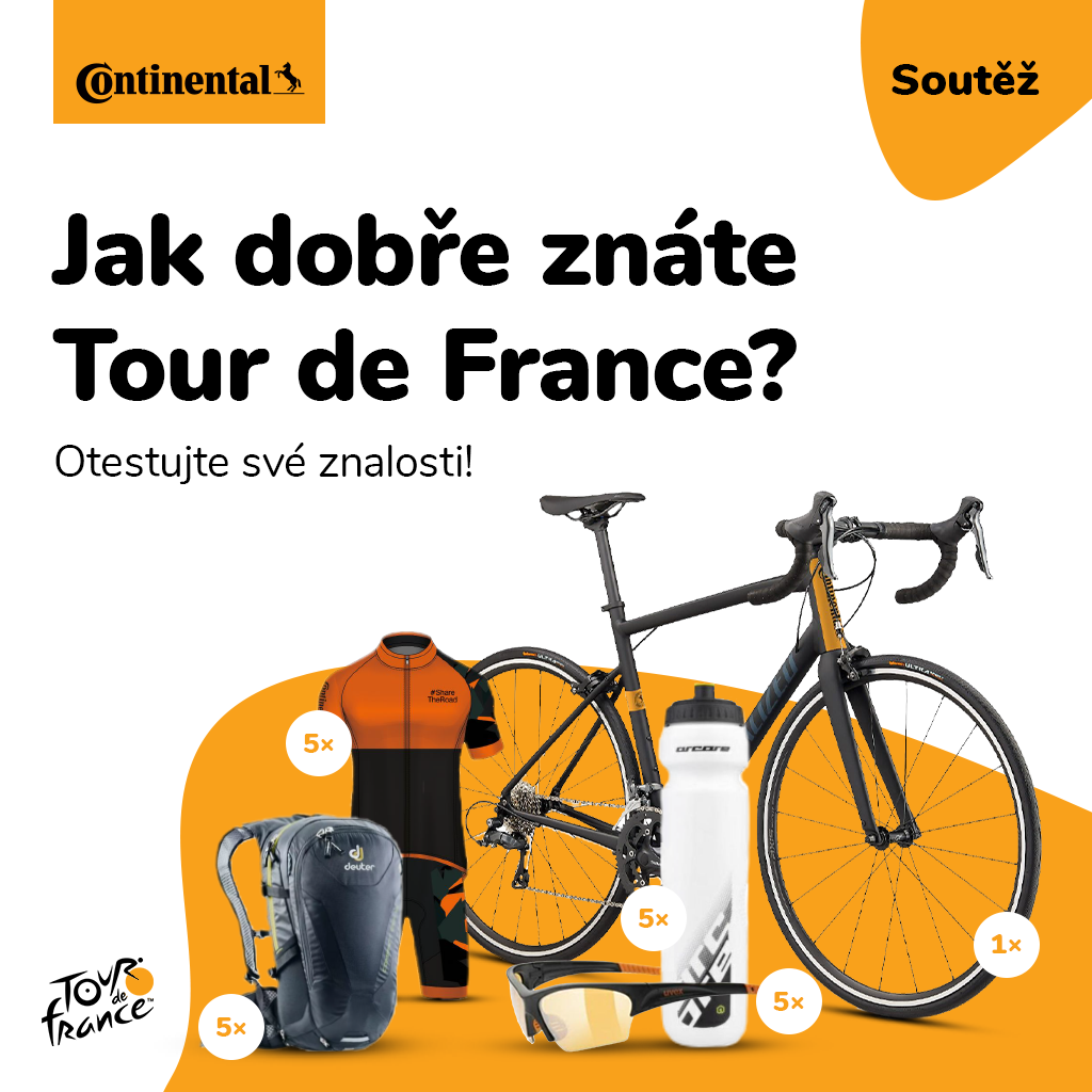 Continental Tour de France soutěž