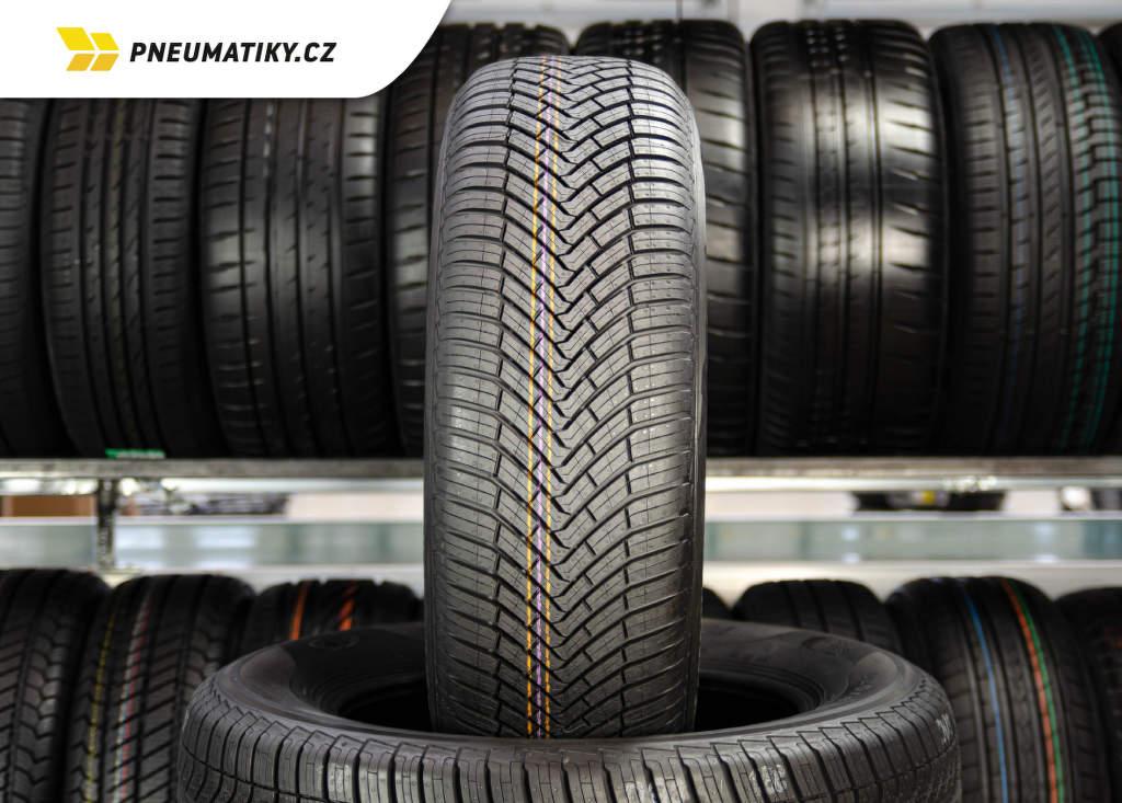 Celoroční pneu Continental All SeasonContact