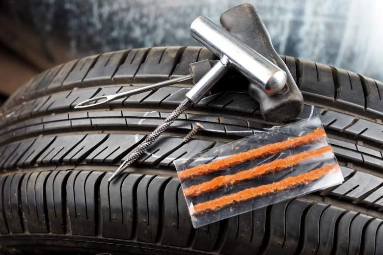 Sada na opravu pneumatik a její využití