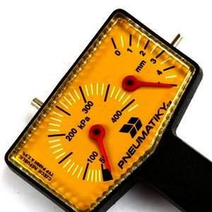 pneumeric jak změřit hloubku dezénu