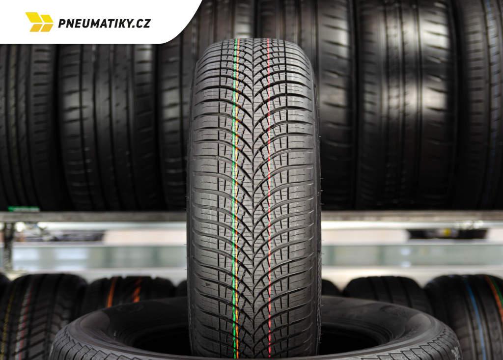 Celoroční pneu Goodyear 4Seasons Gen-3